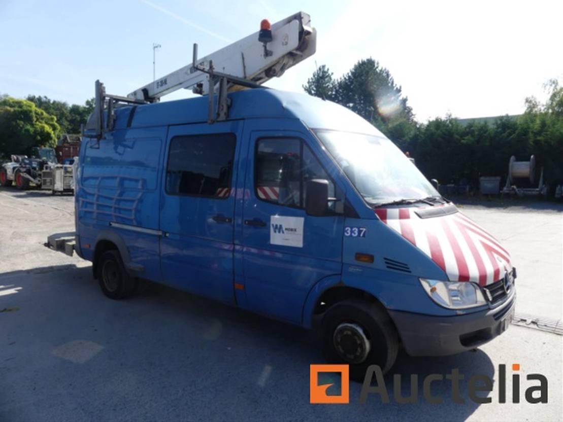 autohoogwerker vrachtwagen Mercedes-Benz 416 CDI-E 2005