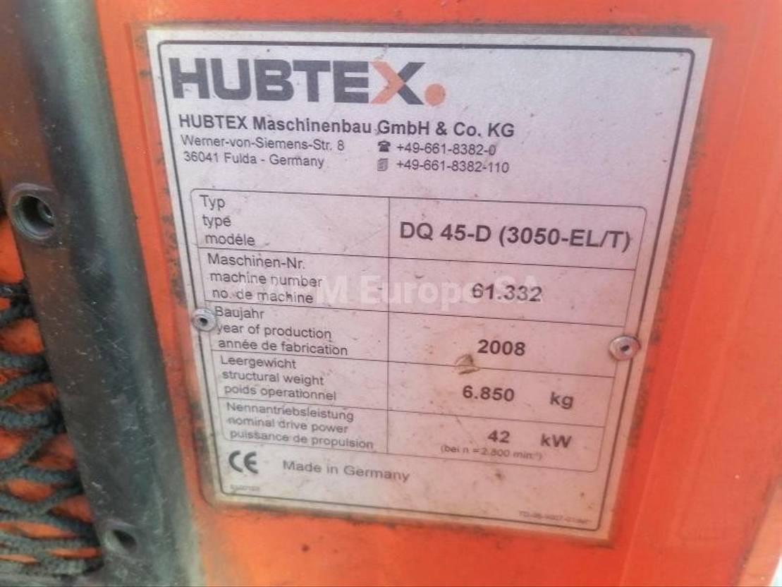 vorkheftruck Hubtex DQ45D 2008