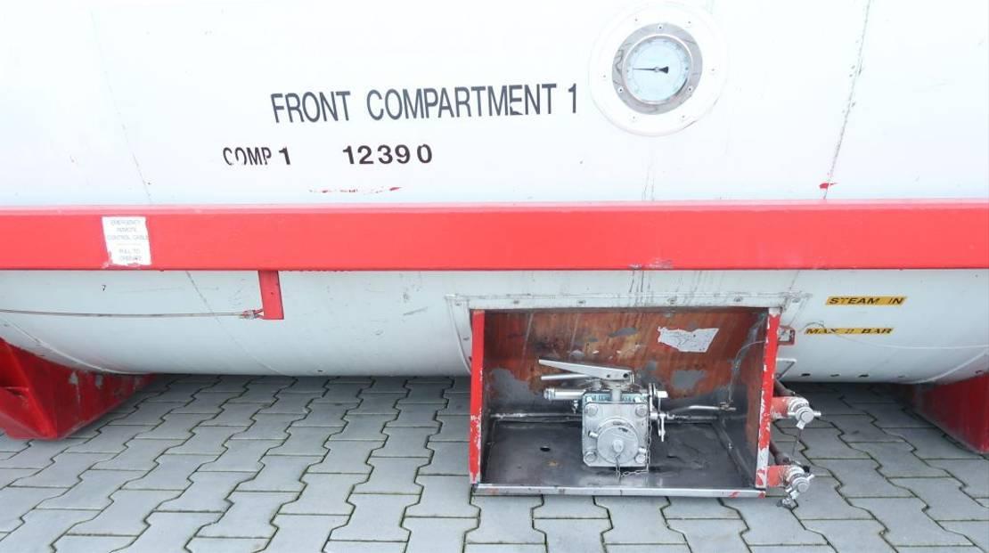 tankcontainer Welfit Oddy 24.690L TC, 2 comp.(12.300L/12.390L), L4BN, IMO1, T11 1998