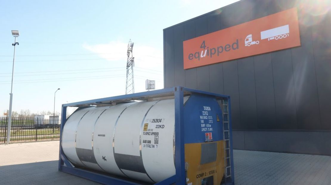 tankcontainer Van Hool 25.000L TC, 2 comp.(12.500L/12.500L), UN PORTABLE, T11 1996