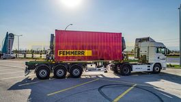 container chassis oplegger STU Trailers SIDE LIFTER 2021
