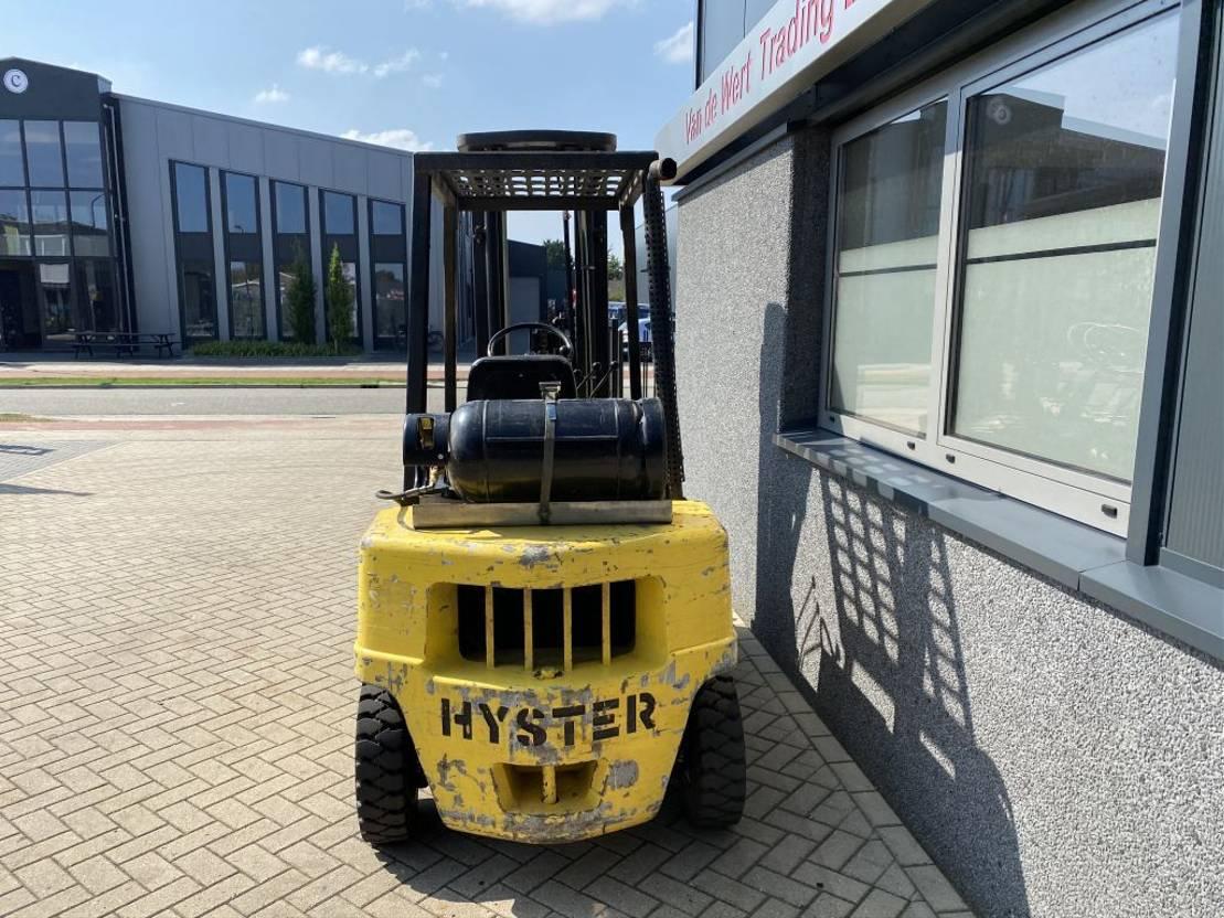 vorkheftruck Hyster Heftruck Hyster H2.50XL Triplo 550 Freelift/Sideshift LPG 1990