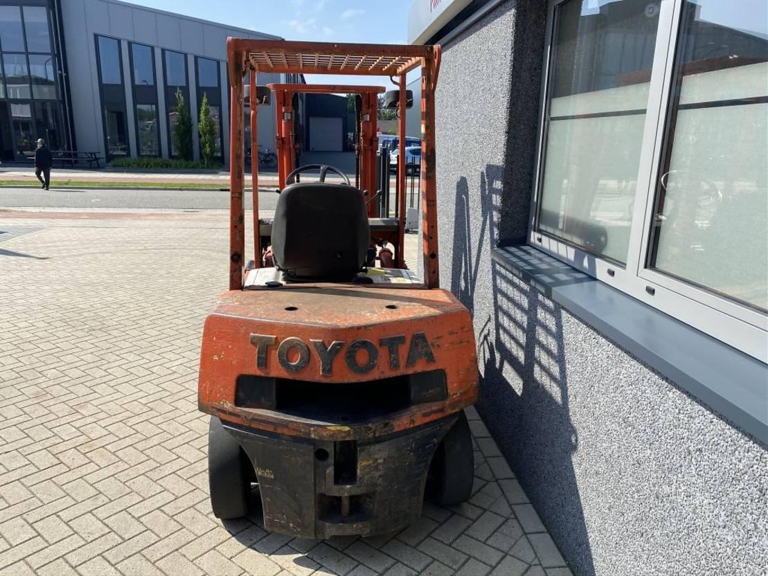 vorkheftruck Toyota Heftruck Toyota 02-4FD25 Duplo 300 Diesel