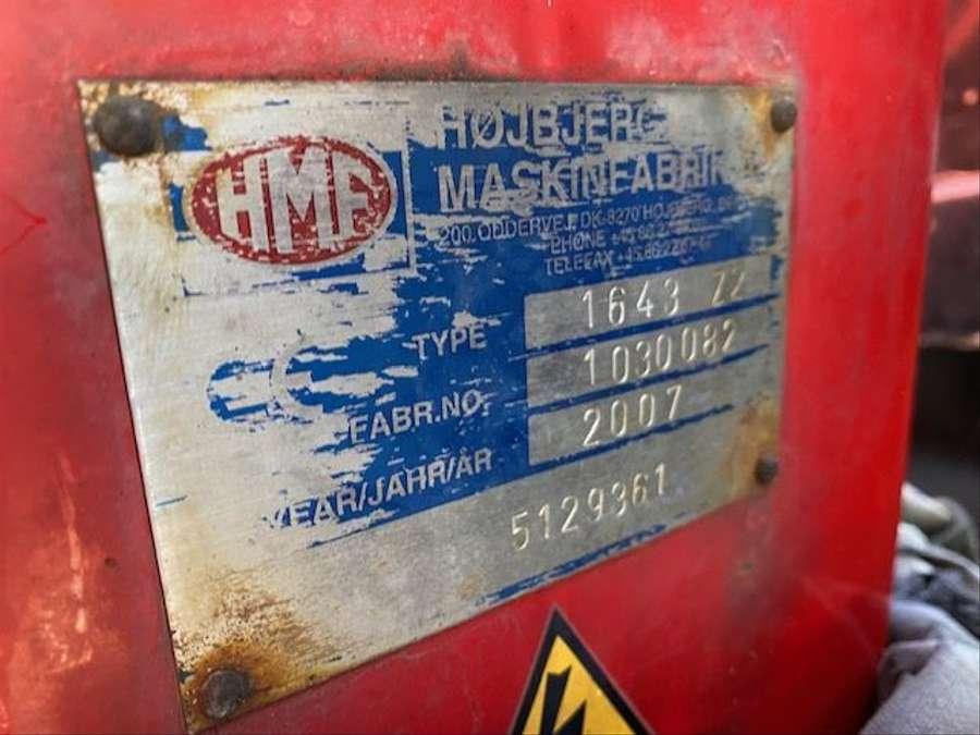 MAN - 6X6 Kipper Mit Kran HMF 16 TON /Funk 23