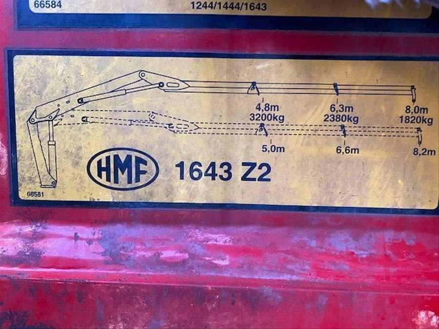MAN - 6X6 Kipper Mit Kran HMF 16 TON /Funk 20