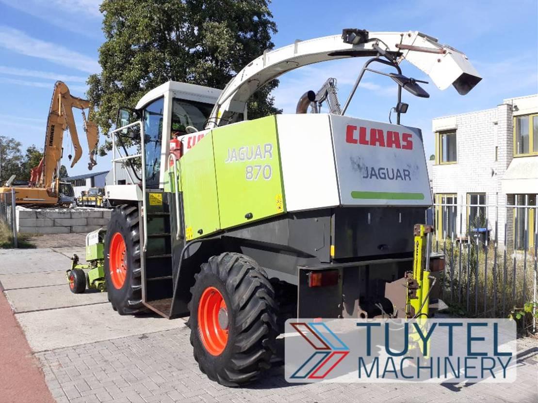 overige oogstmachines Claas Jaguar 870 492 hakselaar + PU 300 HD opraap 2002 2002