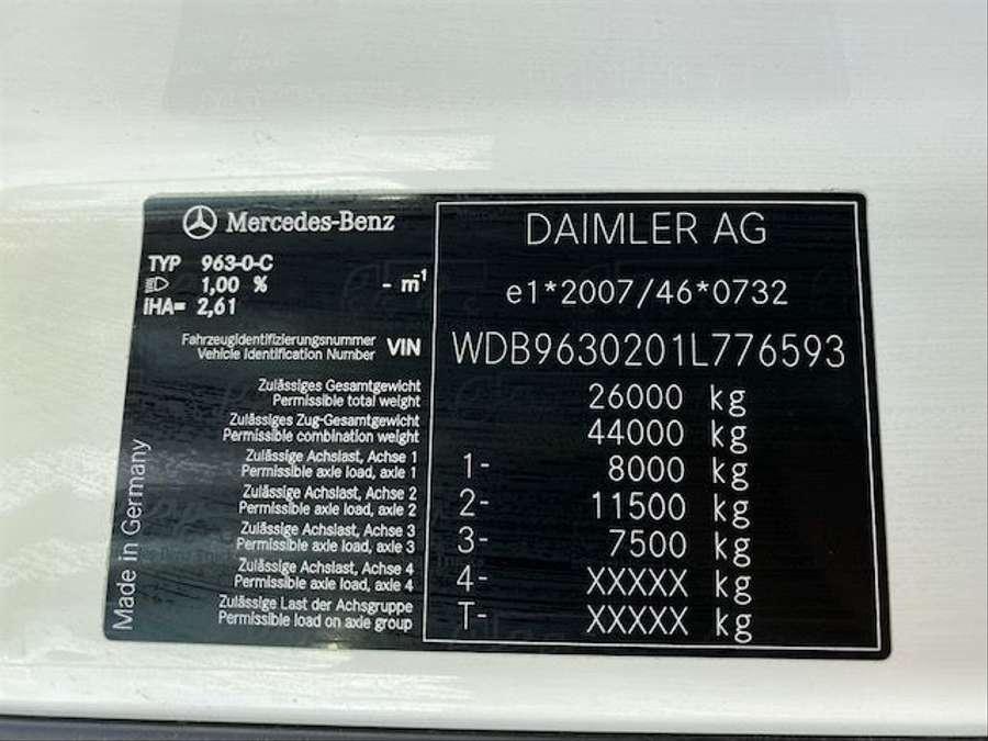 Mercedes-Benz - BigSpace/Rohrbahn/Kühlaggregat defekt!!!! 26