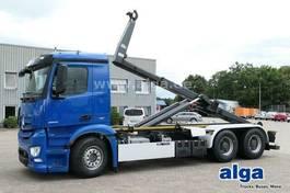 containersysteem vrachtwagen Mercedes-Benz 2658 L , Klima 2014