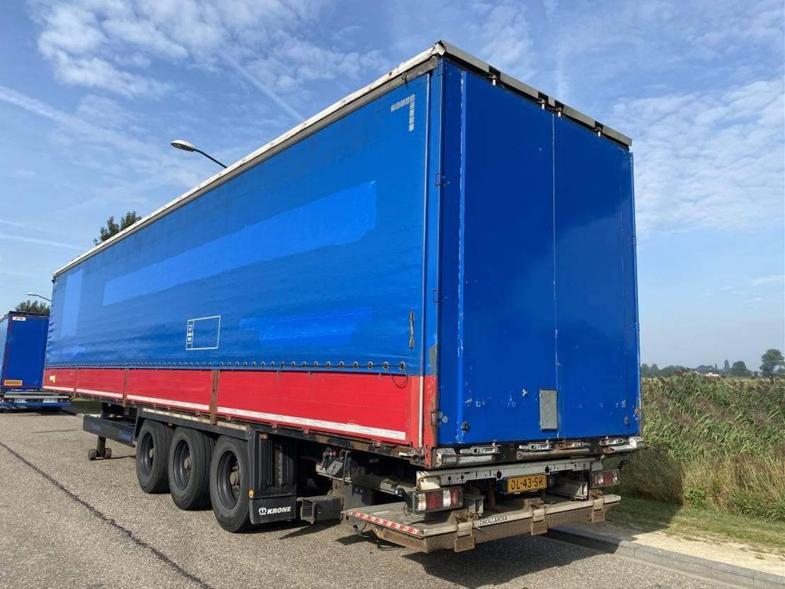 huifzeil oplegger Krone 3-Axle Tent / BPW / Sideboards / Loading Lift 2012