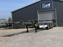 container chassis oplegger Fliegl SDS 40ft nieuwe APK! 2015