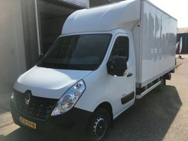bakwagen bedrijfswagen Renault Master Meubelbak met klep 2015