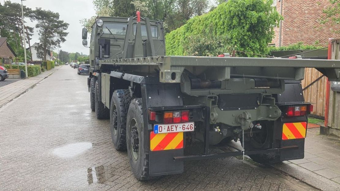 leger vrachtwagen DAF Leyland