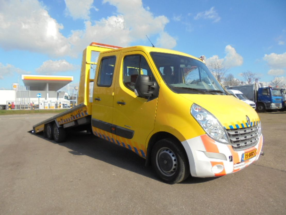 takelwagen-bergingswagen-vrachtwagen Renault MASTER 3500 2012