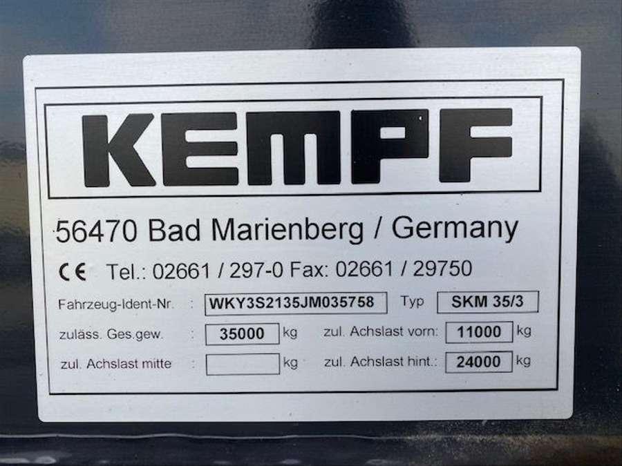 Kempf - Stahl-Kippmulde SKM 35/3 HARDOX 28m³ 13