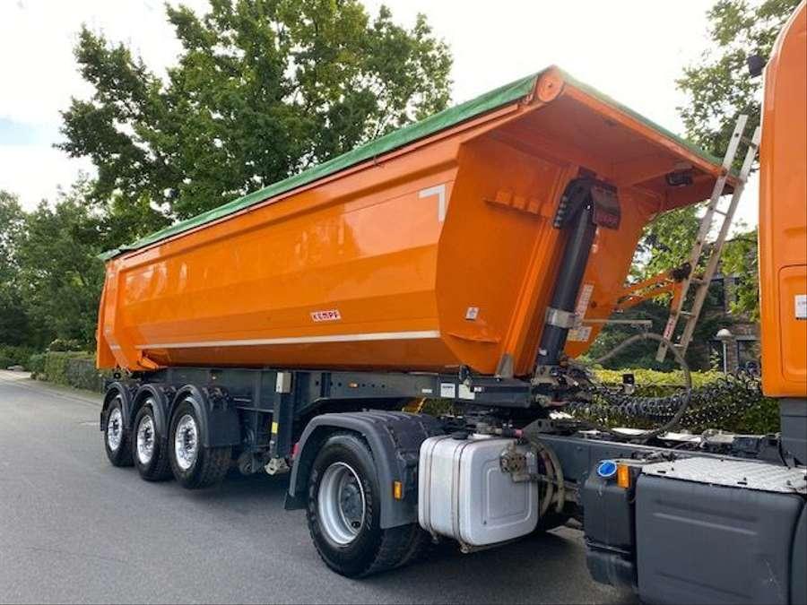 Kempf - Stahl-Kippmulde SKM 35/3 HARDOX 28m³ 2
