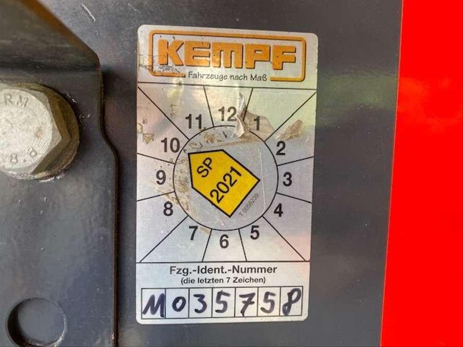 Kempf - Stahl-Kippmulde SKM 35/3 HARDOX 28m³ 16