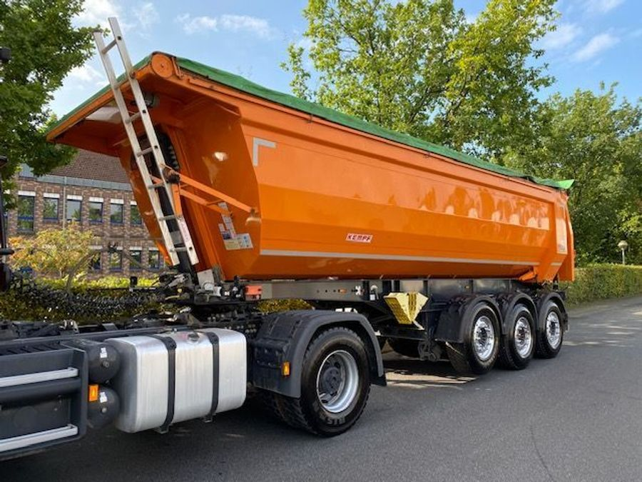 Kempf - Stahl-Kippmulde SKM 35/3 HARDOX 28m³ 1