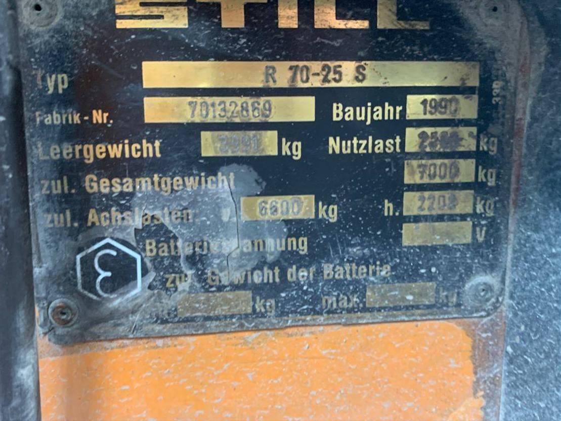 vorkheftruck Still R70/25 1990
