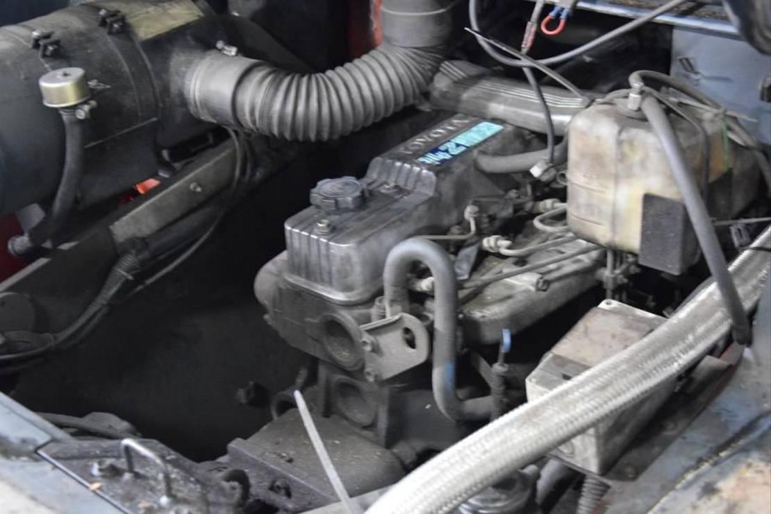 vorkheftruck Toyota 5FD70 2005