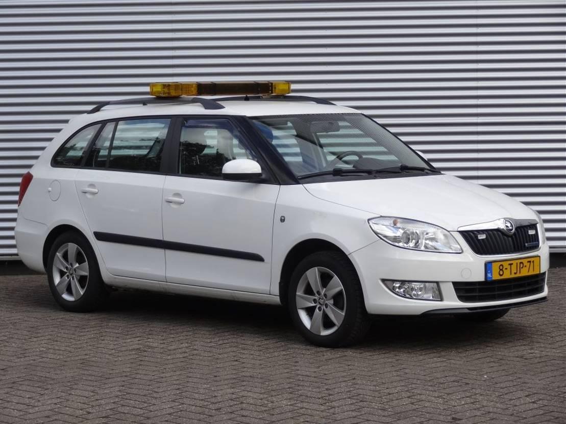 stationwagen Škoda FABIA COMBI GREENLINE 1.2 TDI 2014