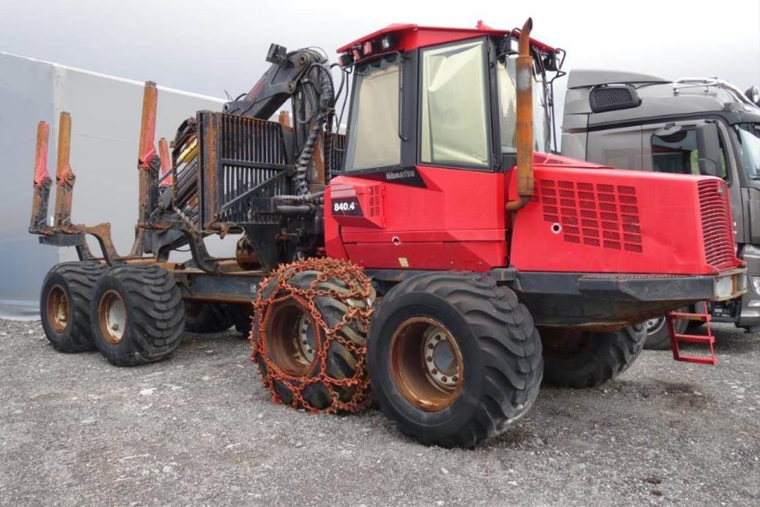 overige oogstmachines Komatsu 840.4 2011