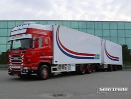 koelwagen vrachtwagen Scania R500 V8 V8    EURO 5   KING OF THE ROAD    MANUAL GEAR    RETARDER    LIFT    TOP CONDITION    49CC COMBI 2011