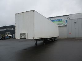 gesloten opbouw oplegger Coder Box - Clothes Transport 2000
