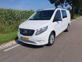 gesloten bestelwagen Mercedes-Benz vito 111  dubbele cabine grijskenteken vito 111 dubbele cabine 2016