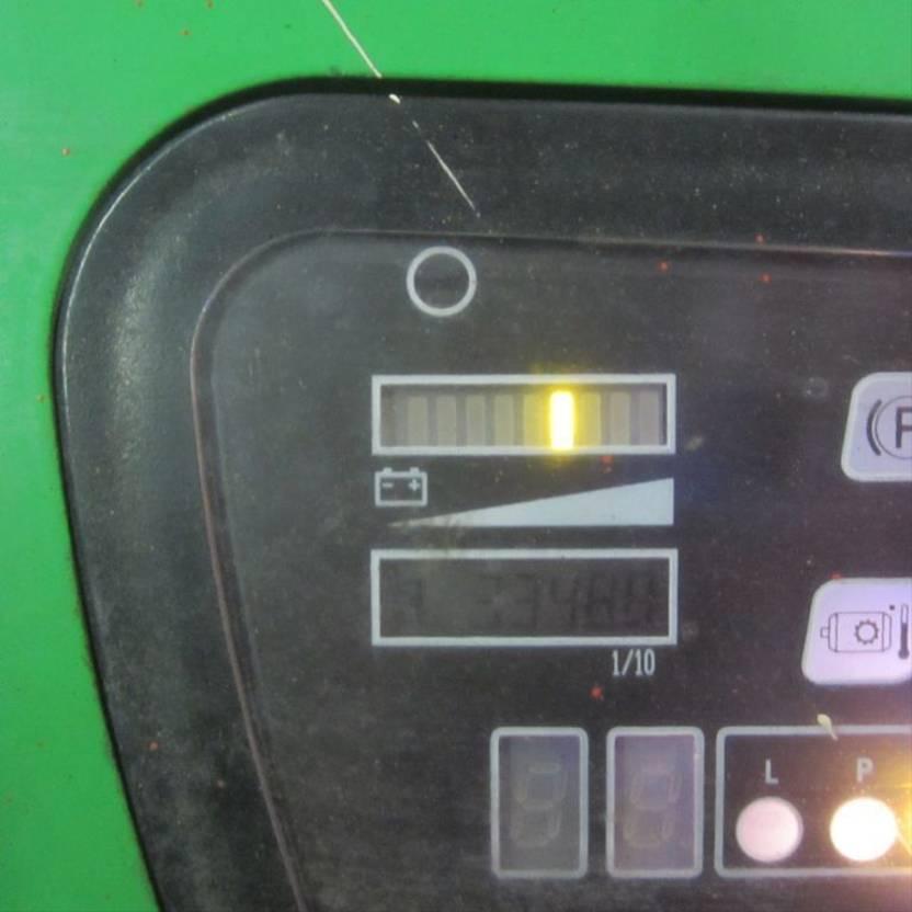 vorkheftruck CESAB Elektrische heftruk Cesab Blitz 315, triplomast, side shift. (2004) 315 2004
