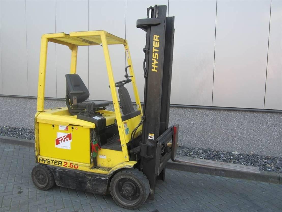 vorkheftruck Hyster E 2.50 XM 2002