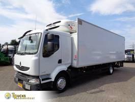 koelwagen vrachtwagen Renault Midlum 220 EURO 5 + Manual + ThermoKing T-800R + Dhollandia 2013