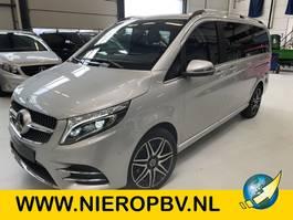 gesloten bestelwagen Mercedes-Benz V-Klasse AMG Dubbelcabine Automaat Airco Navi Leer Nieuw 2021