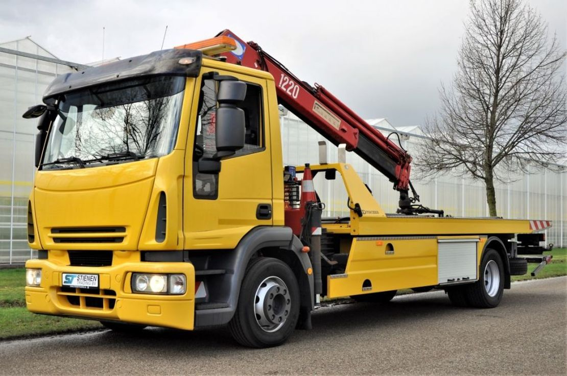 takelwagen-bergingswagen-vrachtwagen Iveco EuroCargo 120 ML120E25/P 2009