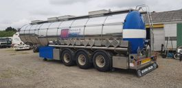 tankoplegger Panissars 36000 Liter Tank Trailer, INOX, ADR, 4 Bar