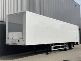 gesloten opbouw oplegger Heiwo HZP 32D / 2-asser / Stuuras / BPW / APK-TUV 12-2021 / NL Trailer 2000