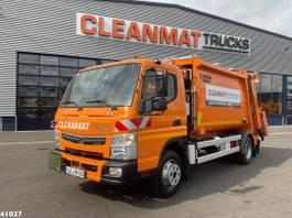 vuilniswagen vrachtwagen FUSO Canter 9C18 Zoeller 7m³ 2021