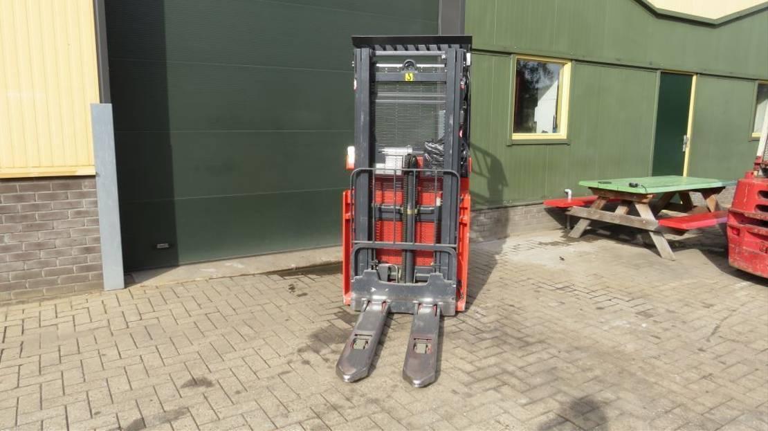 vorkheftruck Linde l12r zit stapelaar elektrische met 2 delige mast l12r 2009