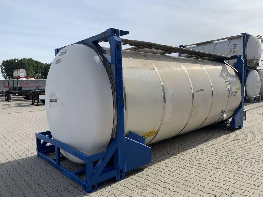 tankcontainer Diversen 31.070L, steam heating, UN PORTABLE, T11, 5y insp. : 07-23 1997