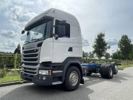 chassis cabine vrachtwagen Scania R450 / 6x2/ Retarder /ADR /  Euro 6 / full air 2016