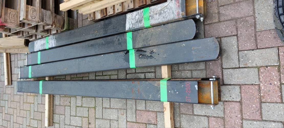 vorkheftruck AC verlenglepels/overzetlepels 220 cm en 250 cm