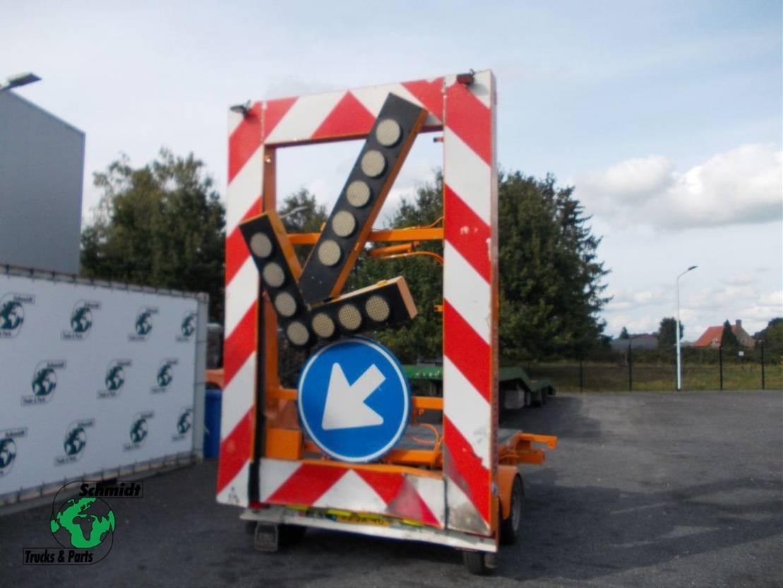 overige aanhangwagen VAN Weel VW1300KW MIDDENASAANHANGWAGEN 2003