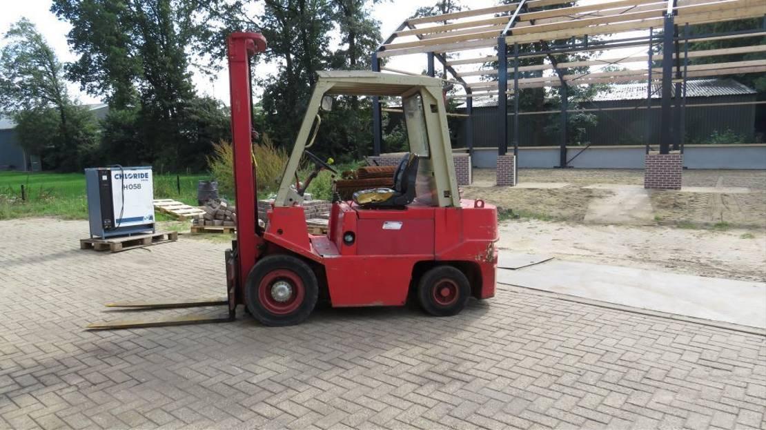 vorkheftruck BT onk heftruck diesel