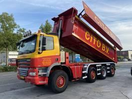 kipper vrachtwagen Ginaf X 4446 TS 8X8 MANUAL - 23,7 M3 2009