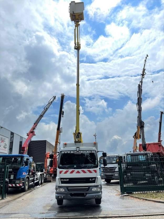 autohoogwerker vrachtwagen DAF LF 55.180 + COMILEV 160 TPC - 16m - HOOGWERKER / WORKING PLATFORM / NACELLE / HUBARBEITSBUHNE -  BELGIAN TRUCK 2012