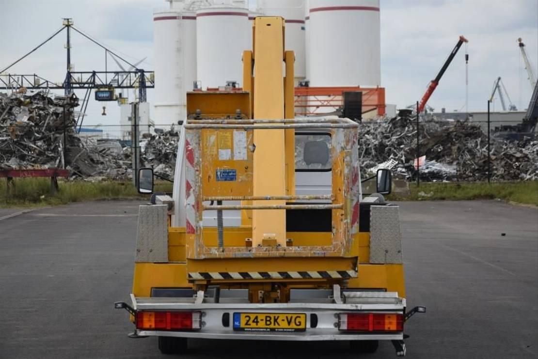 autohoogwerker vrachtwagen Mercedes-Benz Bison Palfinger TA19 2003