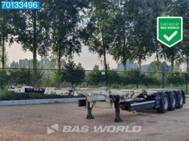 container chassis oplegger CIMC SC03 3 axles Liftachse 2x20-1x3-1x40 Ft. 2015