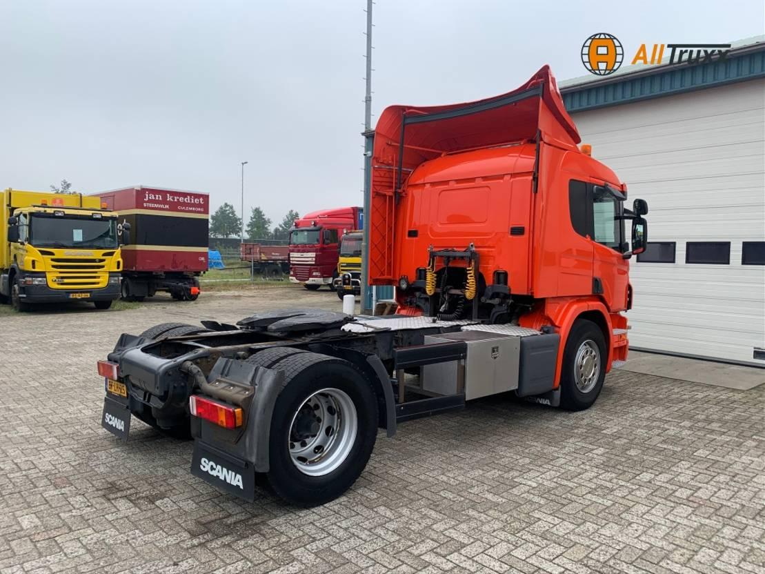 standaard trekker Scania P380 Retarder NL truck 2008