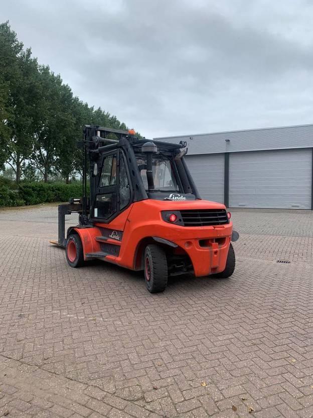 vorkheftruck Linde H80D-02 900 2014
