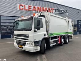 vuilniswagen vrachtwagen DAF CF 250 FAG 75 Euro 5 Geesink 20m³ 2008