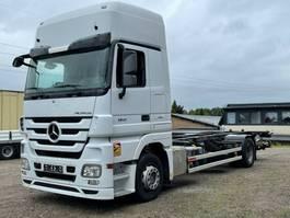 wissellaadbaksysteem vrachtwagen Mercedes-Benz Actros 1841 MP 3 LL, Jumbo, 3 Liegen 2011